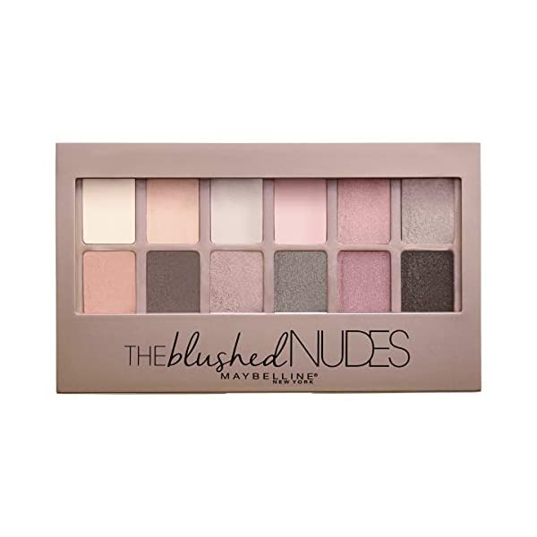 Best Epic Trends 41LqEFYF6HL._SS600_ MAYBELLINE The Blushed Nudes Eyeshadow Makeup Palette