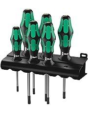 Wera TORX® BO zestaw wkrętaków 367/6 TORX® BO Kraftform Plus + Rack, 6-częściowy, 05138250001