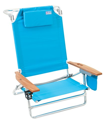 Rio Beach Big Kahuna Extra Large Folding Beach Chair Turquoise Beachfront Decor