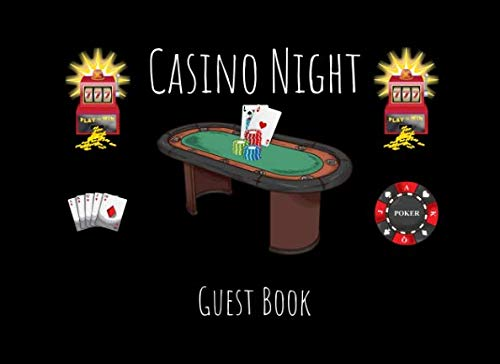 Casino Night Guest Book: An Event Sign In Keepsake]()