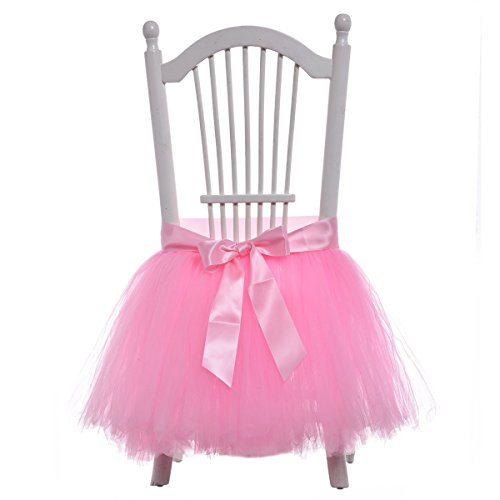 Handmade Tulle Chair Wedding Decoration product image