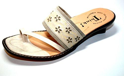 Think 11 84219 90 chaussures mules à talons-femme-beige - 36