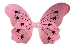 Large Pink Fairy Wings (disfraz)