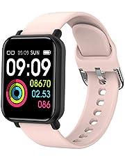 ساعة Lixada الذكية، R16 الذكية IP68 ضد الماء B-lood ضغط نبضات القلب متوافقة مع نظام تشغيل IOS Android