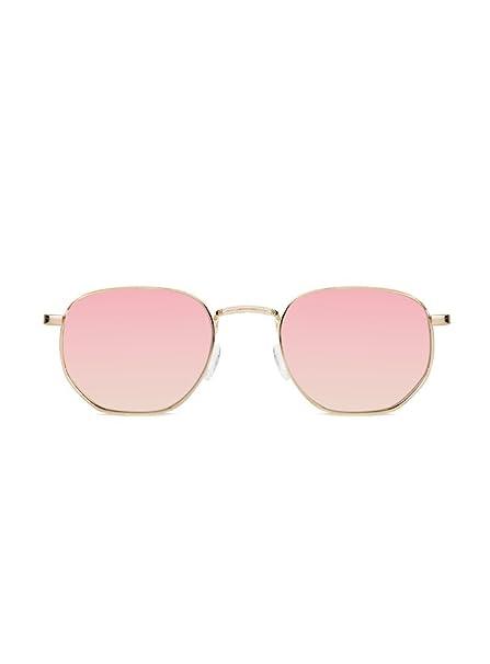 KOALA BAY Gafas de Sol Cocoa Oro Lentes Rosa