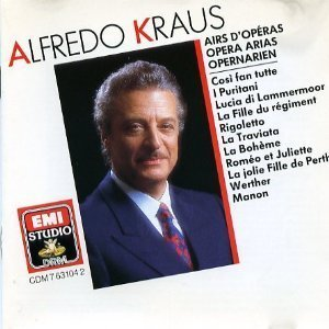 Alfredo Kraus: Opera Arias by Capitol/Emi/Sbk/Chrysalis - Amazon ...