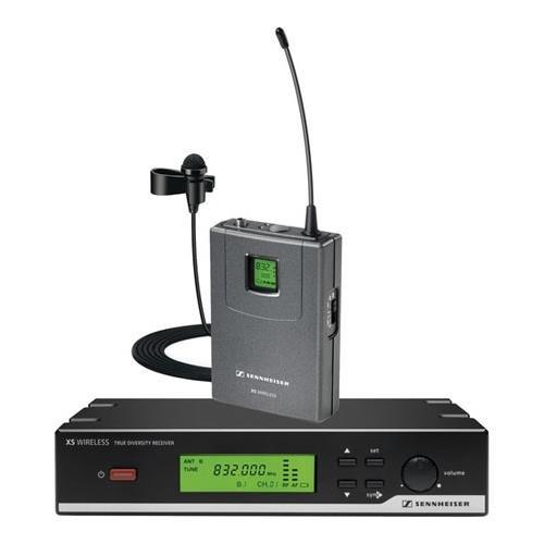 Sennheiser XSW 12-A XS Wireless Lavalier System - SK 20, ME2 and EM 10 Receiver - ''A'' 548-572 MHz by Sennheiser