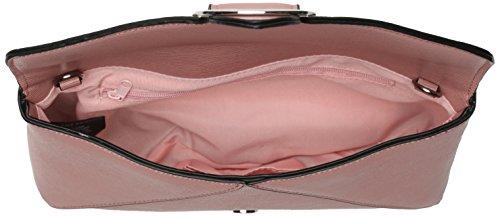 Dorothy Perkins Pink Buckle Clutch - Pochette da giorno Donna, Pink, 27.2x14.5x7 cm (W x H L)