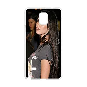 Megan Fox Celebrity 3 Samsung Galaxy Note 4 Cell Phone Case White Personalized Phone Case LK5S88399