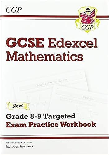 GCSE Maths Edexcel Grade 8-9 Targeted Exam Practice Workbook