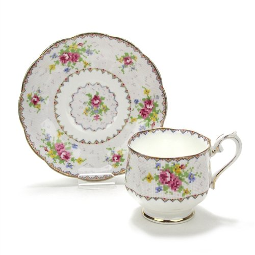 Petit Point by Royal Albert, China Cup & Saucer ()