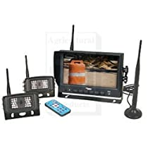 WL56M2C CabCAM Video System, Wireless (Includes 7 Monitor and 2 Cameras)