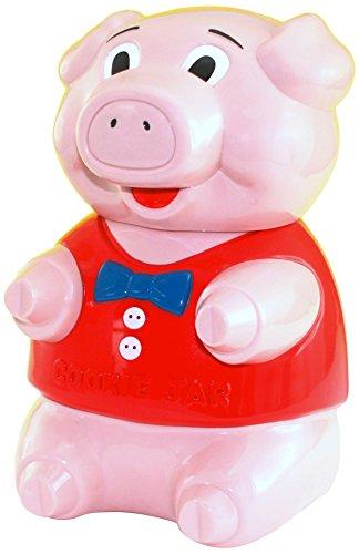 MGD Oinking Pig Jar, 6 Piece (Pig Cookie Jars)
