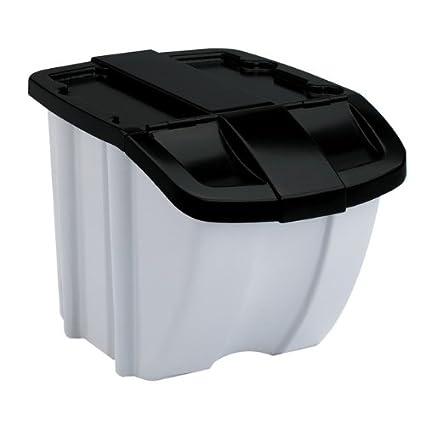 Amazoncom Suncast BH188810 18 Gallon Stackable Storage Bin Home