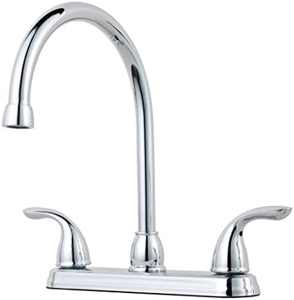Pfister G136-2000 Series 2-Handle Kitchen Faucet, Chrome