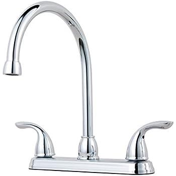Pfister G136 2000 Series 2 Handle Kitchen Faucet Chrome