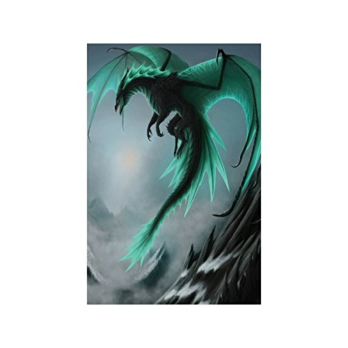 """Custom Poster Paper,Flying Dragon fade-resistant Poster 20""""x30""""(One-side)"""