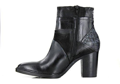 Boots Bottines Piu 10029 Brigida Donna Femme Noir TwUHqnfn