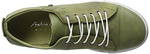 Andrea Conti 0342745, Zapatillas Mujer Verde (Khaki)