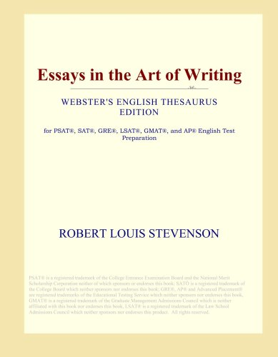 Download Essays in the Art of Writing (Webster's English Thesaurus Edition) PDF