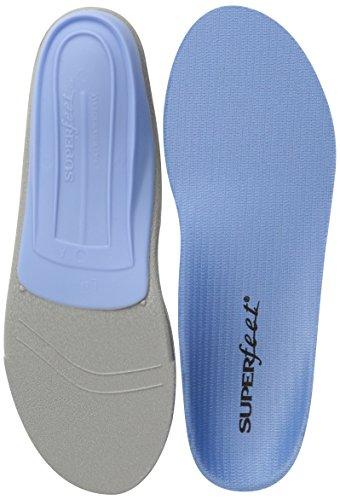 Superfeet Blue Premium Insoles,Blue,F: 12.5+ US Womens/11.5 - 13 US Mens