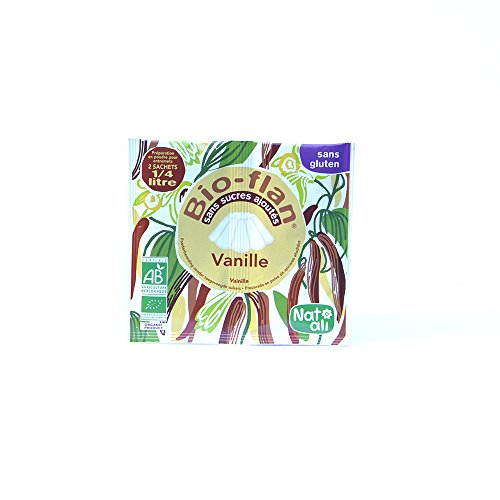 Natali - Bioflan Vanille Sans Sucre 2 sachets 25cl