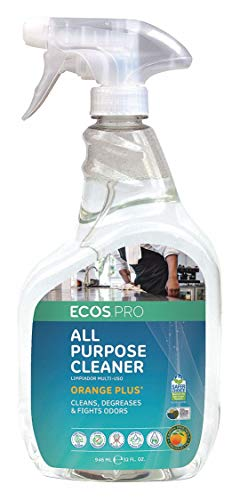 ECOS PRO PL9706/6 All-Purpose Cleaner-Degreaser, Orange Plus (Pack of 6)