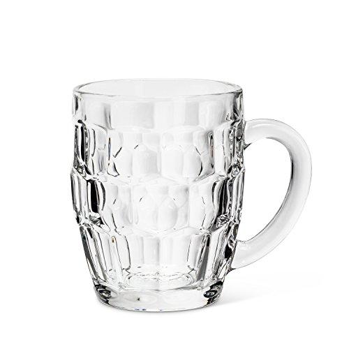 (Abbott Collection 27-BREW-0300 Panel Barrel Side Beer Mug, Pannel)