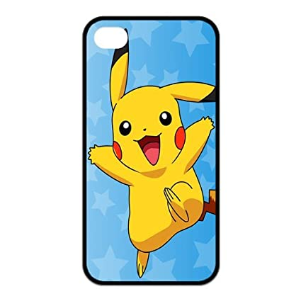 uk availability 34a32 b7796 iPhone 4s Case,iPhone 4 Case, Pokemon Pikachu Series Pattern Hard ...