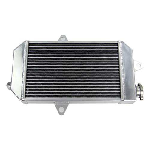 ALLOYWORKS 2 Row Radiators Aluminum ATV Radiator for Yamaha Banshee YFZ350 YFZ (Yamaha Atv Parts)