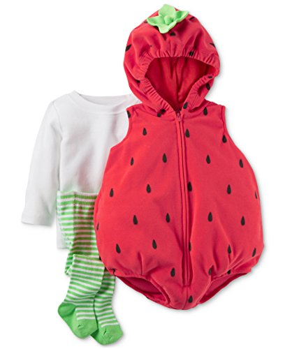 [Carters Baby Halloween Costume Many Styles (12m, Strawberry)] (Strawberry Halloween Costumes)