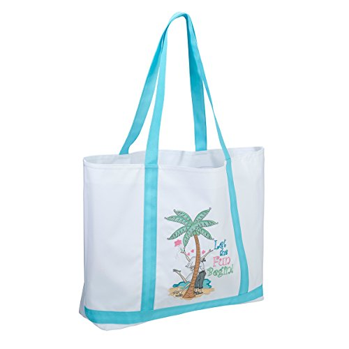 Let the Fun Begin Large Nylon Tote Bag