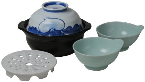 Nishinihontoki universal pot (turnip) Tonsui 2P set 802754 by Nishinihontoki