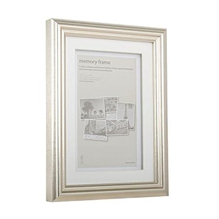 Metallic Pewter Memory Box Frame A4: Amazon.co.uk: Kitchen & Home