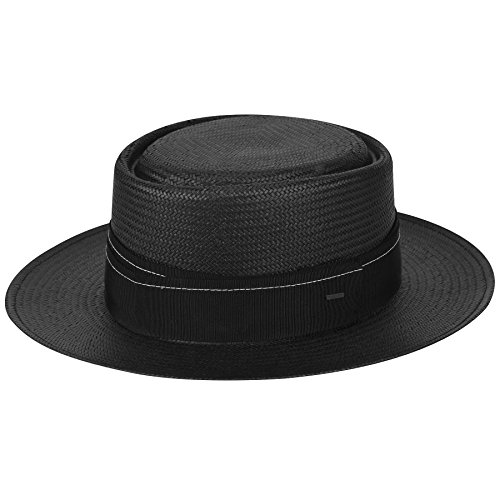 Bailey of Hollywood Mens Winger Pork Pie Crown Boater Hat