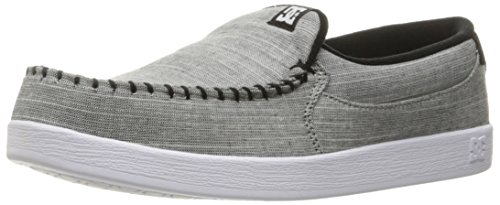 DC Men's Villain Tx Skateboarding Shoe, Grey Light Used, 13 D US