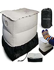 SYCOTEK Foot Rest Cushion 3 Height Adjustable & 40 Seconds Inflation, Foot Pillow for Kids & Adults