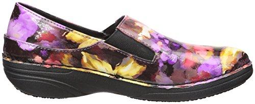 Ferrara Step Floral Work Spring Multi Purple Women's Shoe AvCxwq1