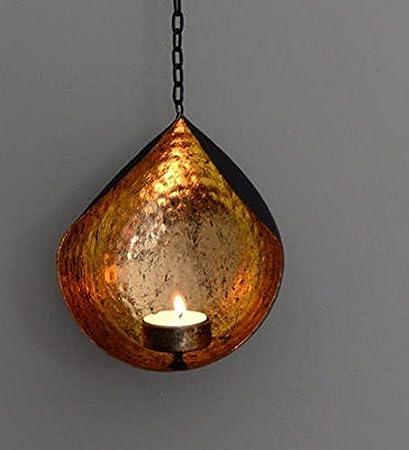 Amazon.com: CraftVatika Iron Wall Art Candle Hanging Candle Holder ...