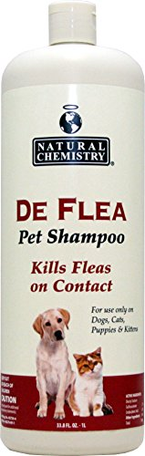 DeFlea Ready to Use Flea & Tick Shampoo for Dogs and Puppies 33.8oz