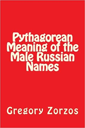 Amazon in: Buy Pythagorean Meaning of the Male Russian Names