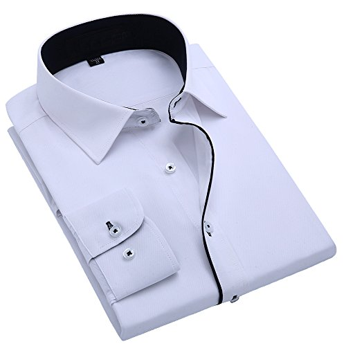 Alimens-Gentle-Design-Solid-Color-Slim-Fit-Long-Sleeve-Dress-Shirts