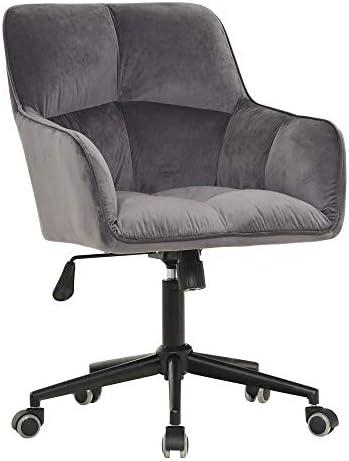 Home Office Desk Chairs Swivel,Comfort Velvet Task Chair