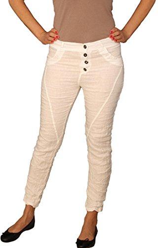 Perano - Pantalón - Básico - para mujer blanco 40