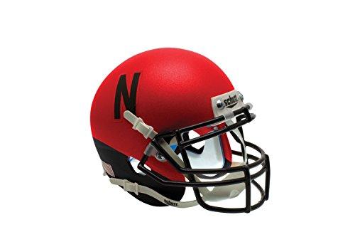 NCAA Nebraska Cornhuskers Wrap Authentic Helmet, One Size by Schutt