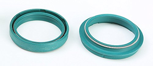 SKF 02-08 Honda CRF450R Fork Seal and Wiper (47mm) (Green)