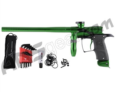 Dangerous Power G5 Paintball Gun - Green / Black