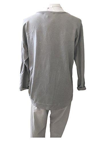 iSILK - Sudadera - para mujer gris