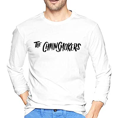 Chainsmokers Men's Cotton Adult Long Sun Protection Outdoor Long Sleeve T-Shirt for Running, Fishing, Hiking
