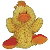 KONG Plush Duck with Squeaker Dog Toy, Small